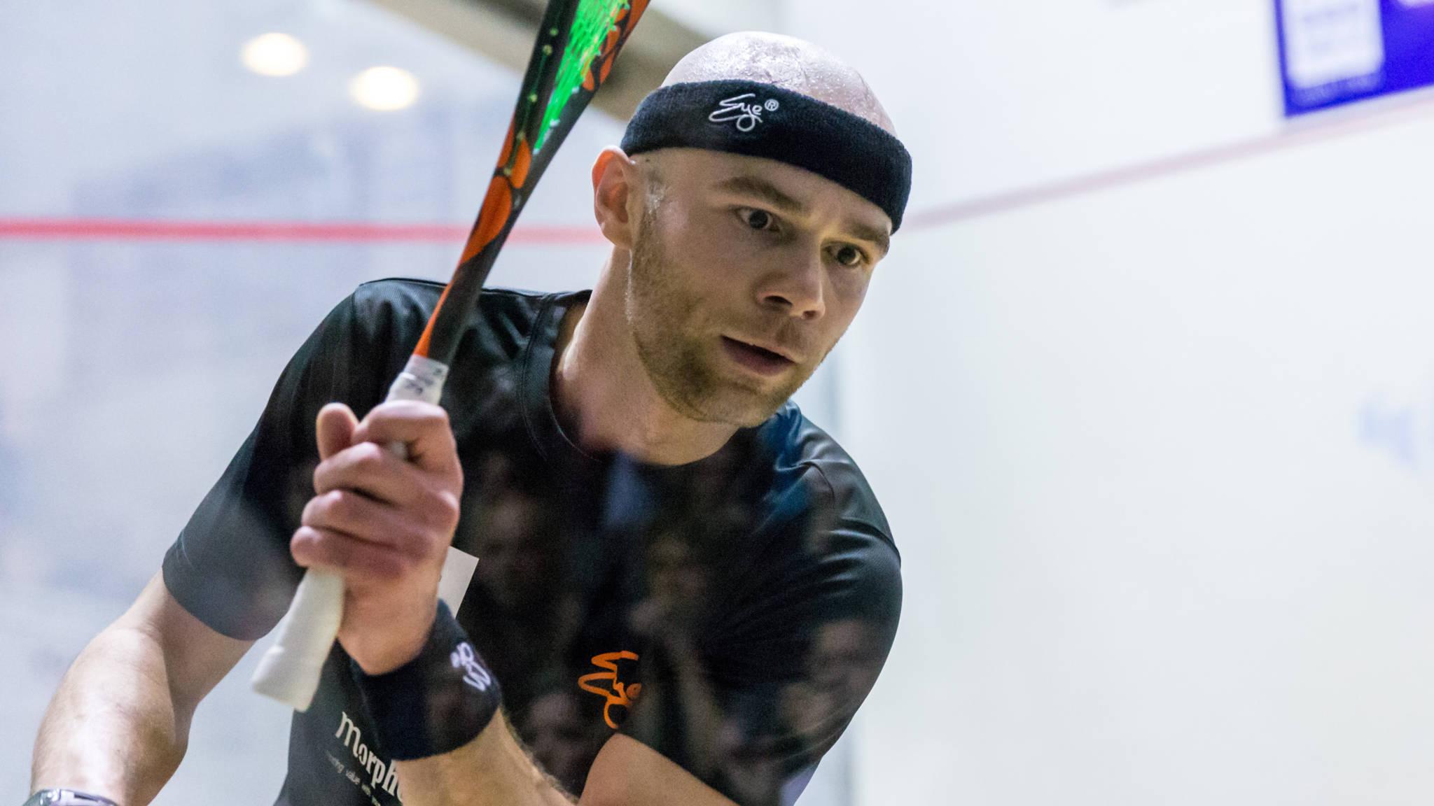 EYE Tour verheugd met deelname Piedro Schweertman bij PSA Squash Delft